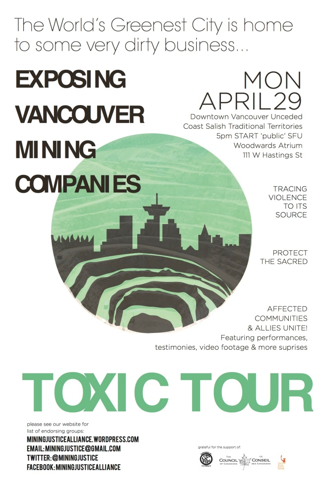 TOXIC TOUR!  PLS SEND TO YOUR PEOPLE!