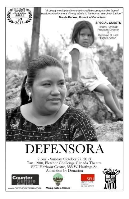 Defensora Vancouver Poster
