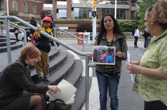 La Puya demo Vancouver 05